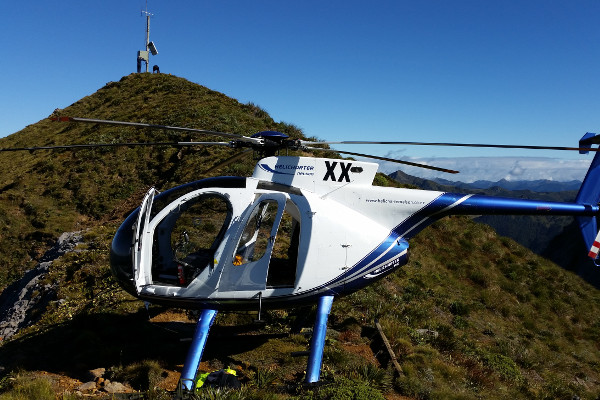 commercial flights to hill top repeater sites and remote access to back country areas.
